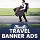 Travel Agency Banner Ads
