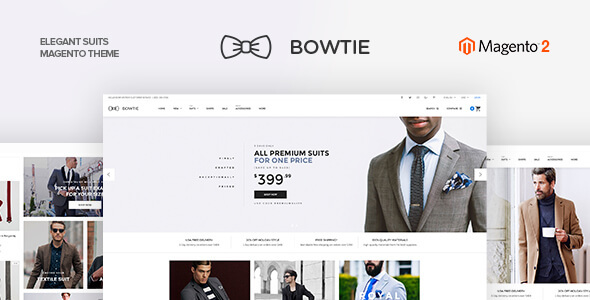 Bowtie - Clothes Magento 2 Theme