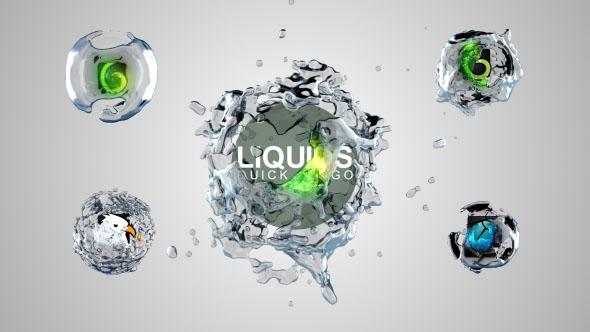 Liquids Quick Logo Pack 1