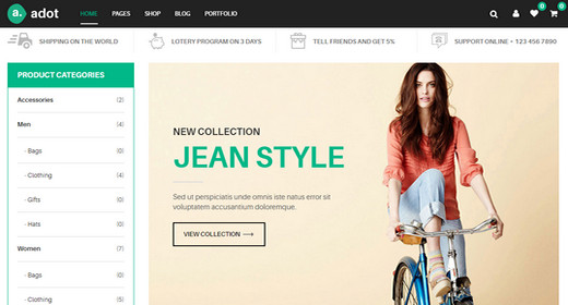Awesome eCommerce Website Templates for Joomla