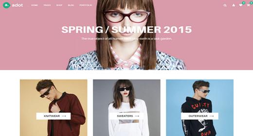 Simple and Beautiful e-Commerce Joomla Templates
