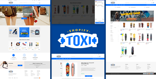 Download Toxi - Responsive UX Shopify Theme nulled download