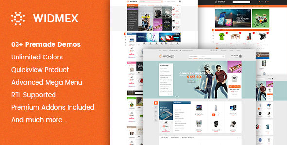 Widmex - Multi-Purpose Premium Responsive Prestashop Theme