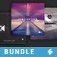 Minimal Sound - CD Cover Templates Bundle