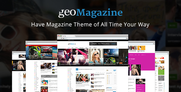 Geo Magazine | Modern Responsive Newspaper  | News Portal WordPress Theme