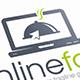 Online Food Logo Template