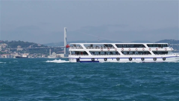Download Passenger Boat In The Bosporus. nulled download