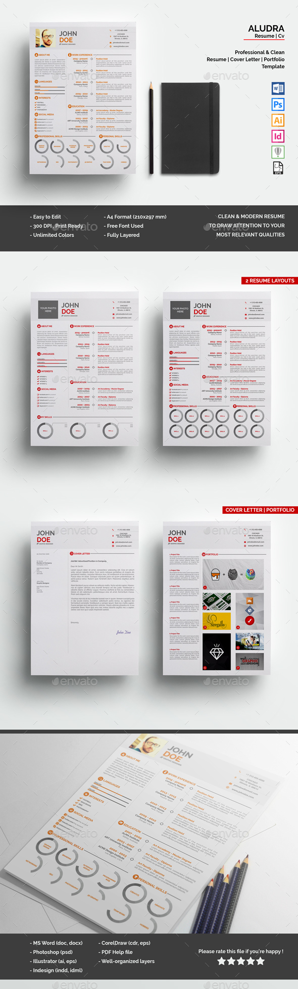 InDesign Simple Graphics, Designs & Templates from GraphicRiver ...