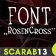 Handmade Font RosenCross