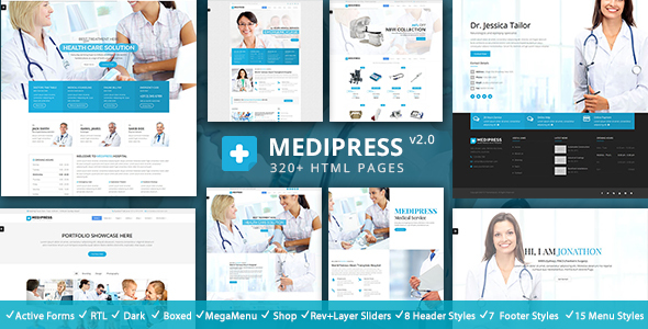 MediPress - Health & Medical Respnsive HTML5 Template