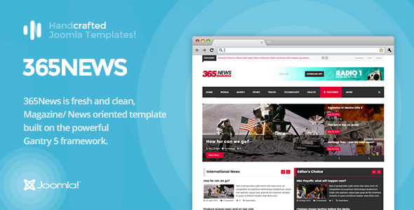 IT 365News - News/ Magazine Joomla Template Gantry 5