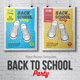 Back to School Party Flyer/Poster