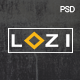 LOZI - Creative Onepage PSD Template