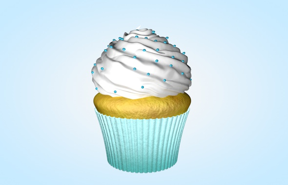 Cupcake - 3DOcean Item for Sale