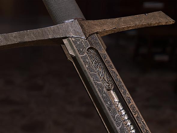Sword ARADOR - 3DOcean Item for Sale