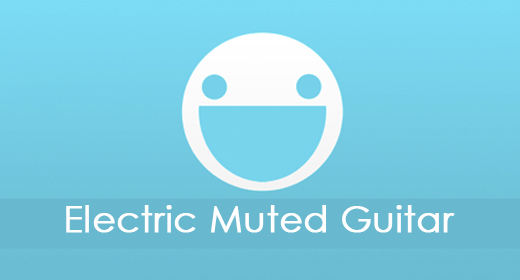 Electric Muted Guitar
