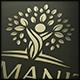 Human Tree Logo Template
