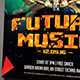 Future Music Flyer Template