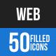 Web Blue & Black Icons