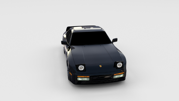 3DOcean Porsche 944 Turbo rev 17363163