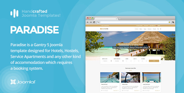IT Paradise - Gantry 5, Hotel & Booking Joomla Template