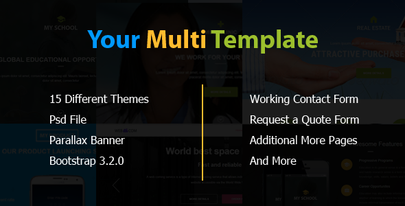 Image of Your Multi Template