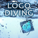 Realistic Diving Logo Reveal
