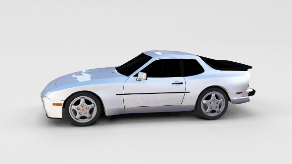 3DOcean Porsche 944 Turbo S rev 17368829