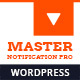 Master Notification Pro - Responsive Notification Bar Plugin for WordPress