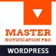 Master Notification Pro - Responsive Notification Bar Plugin for WordPress
