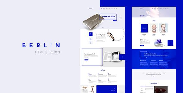 Berlin - Tech Company HTML5 & CSS3 Template