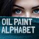 Oil Painting Alphabet
