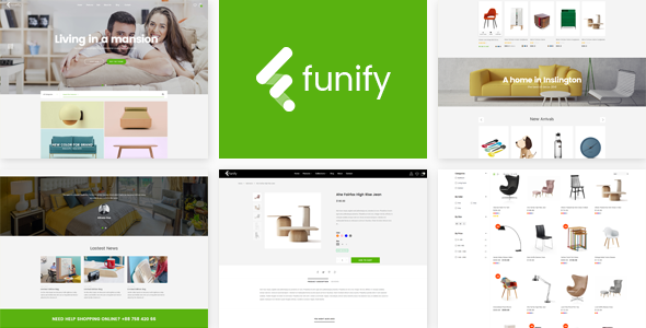 Download Funify - Minimal Responsive UX Shopify Theme  nulled download
