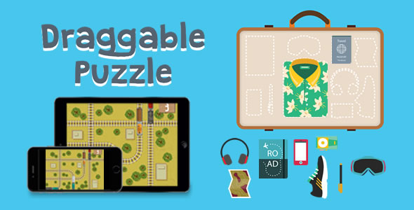 Download Draggable Puzzle - HTML5 Game nulled download