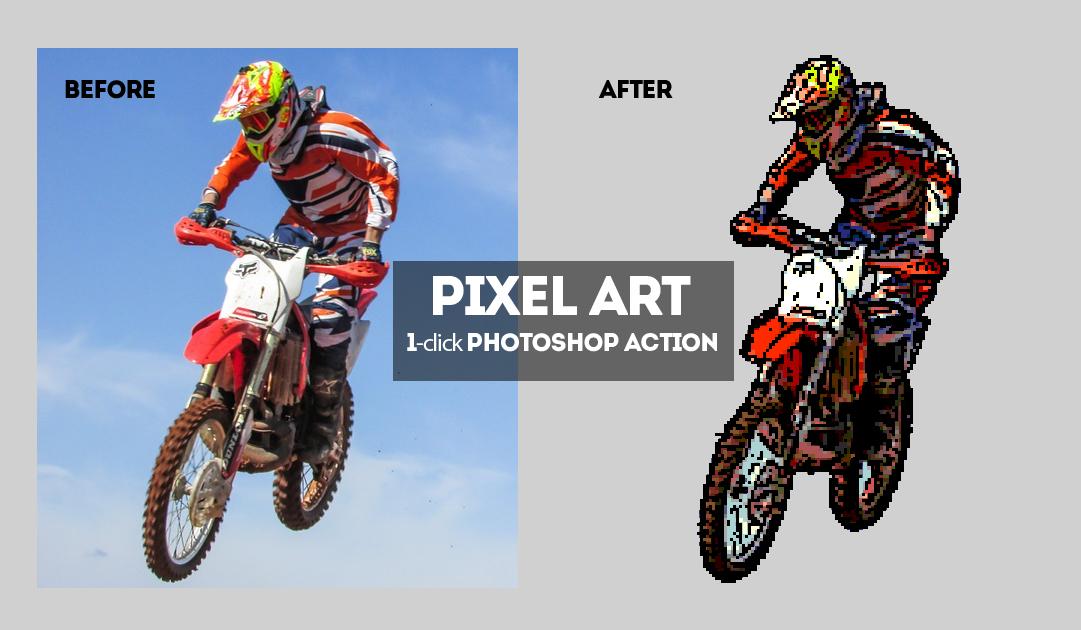 Pixel Art Generator By Psddude Graphicriver