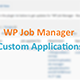 WP Job Manager - Submit Application Form