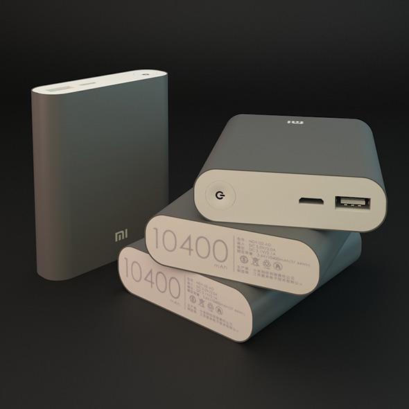 Xiaomi Power Bank 10400 Mah - 3DOcean Item for Sale