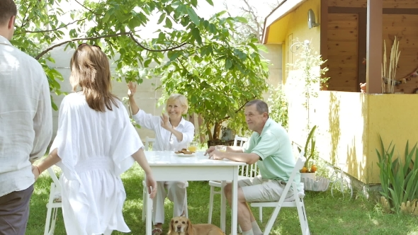 Download Couple At The Table Goes To The Elderly Couple. nulled download