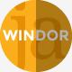 WINDOR Modern and Minimal Template