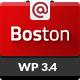Boston - Corporate Parallax WordPress Theme