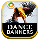 Dance Class HTML5 Banners - GWD - 7 Sizes(NF-CC-126)