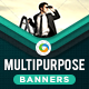 HTML5 Multipurpose Banners - GWD - 7 Sizes ( NF-CC-129)
