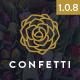 Confetti - Responsive Wedding WordPress Theme