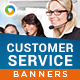 Customer Service HTML5 Banners - (NF-CC-134)