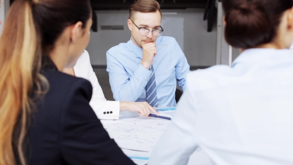 Download Business Team With Scheme Meeting At Office 40 nulled download