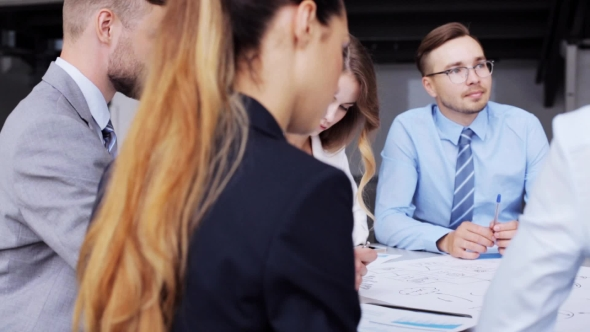 Download Business Team With Scheme Meeting At Office 48 nulled download