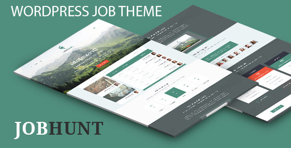 Job hunt job Board WordPress Theme