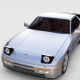 Porsche 944 Turbo S with interior rev
