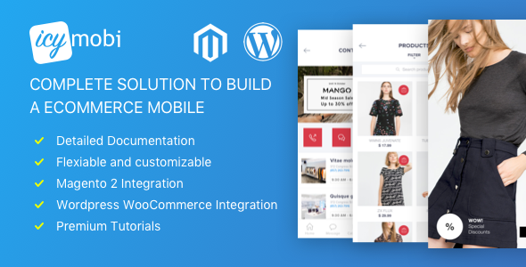 Download IcyMobi – All-in-one E-commerce App Solution nulled download