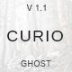 Curio - Responsive Minimal Ghost Theme